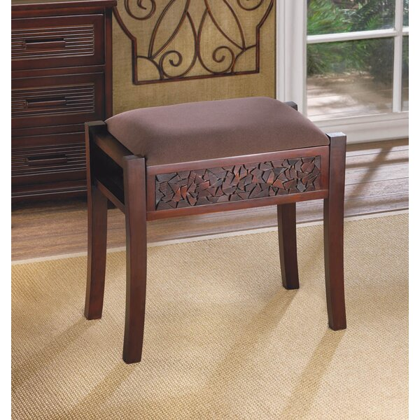 Regent Carved Accent Stool by Zingz & Thingz