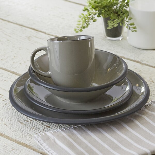 Hampshire Watmough 16 Piece Dinnerware Set, Service for 4 by Birch Lane™