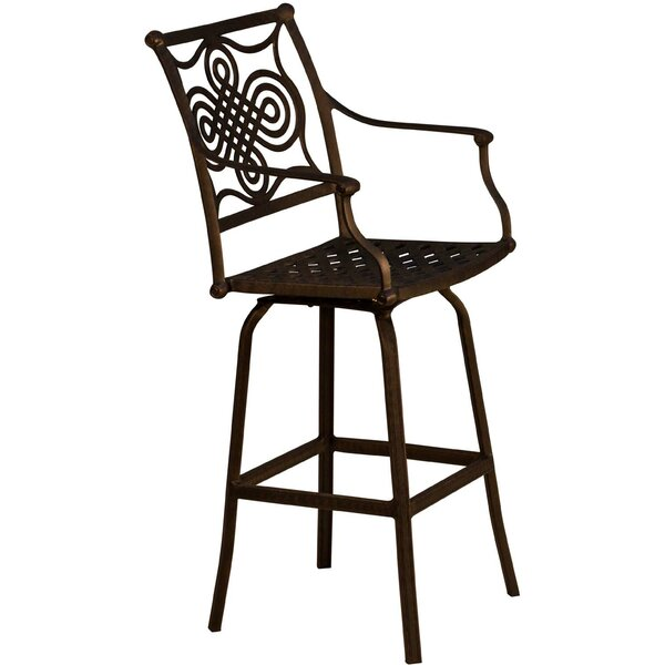 Bermuda 27.5 Patio Bar Stool by California Outdoor Designs