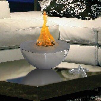Beautiful Sutton Indoor/Outdoor Gel Fuel Tabletop Fireplace