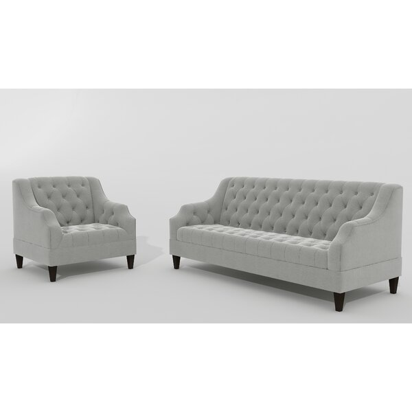 Petrie 2 Piece Living Room Set by Canora Grey
