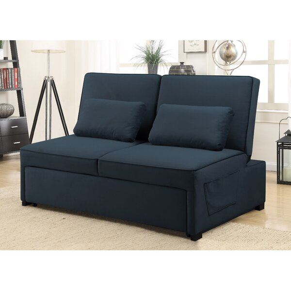 Weekend Promotions Tavin Queen Split Back Convertible Sofa by Serta by Serta
