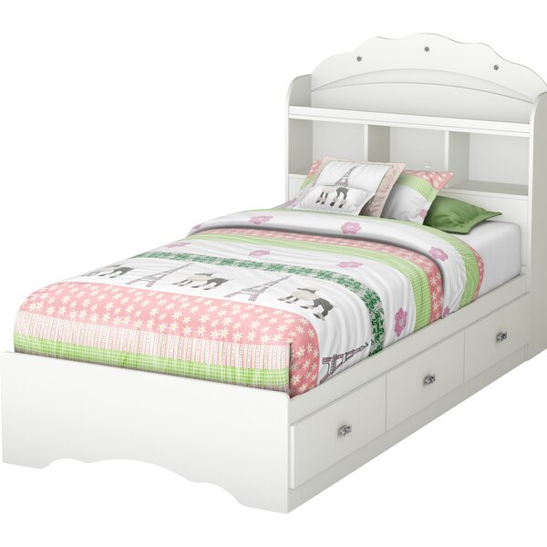 Tiara Twin Mates & Captains Bed with Drawers by South Shore
