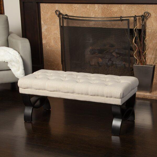 Thorne Upholstered Bench by Winston Porter