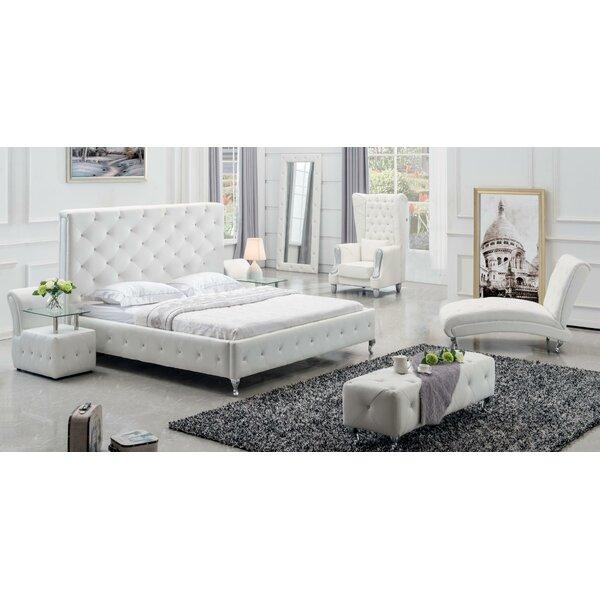 Palliser Queen Standard 4 Piece Bedroom Set by Ebern Designs