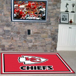 NFL - Kansas City Chiefs 4x6 Rug by FANMATS