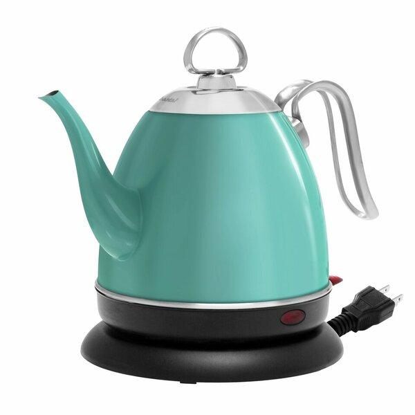 Mia Ekettle 1 Qt. Stainless Steel Electric Tea Kettle by Chantal