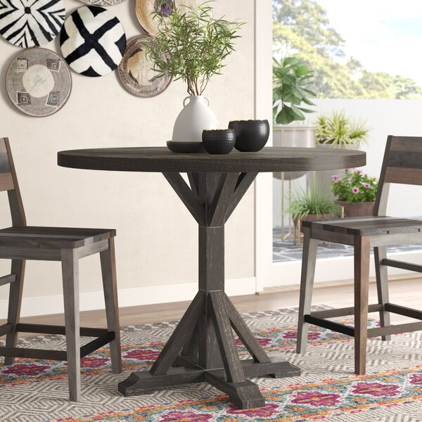 Silverheels Counter Height Dining Table by Bungalow Rose