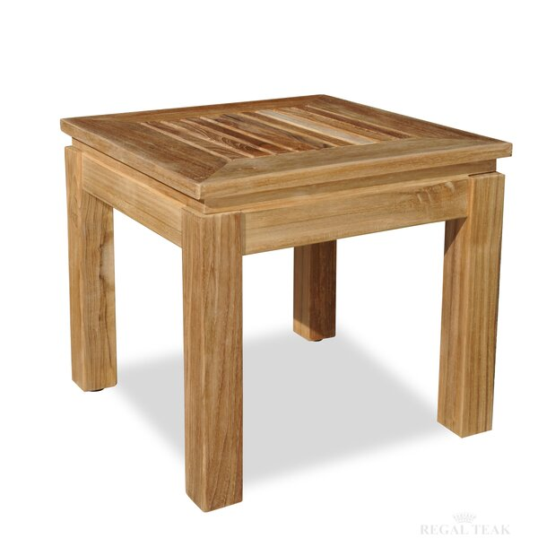 Solid Wood Side Table by Regal Teak