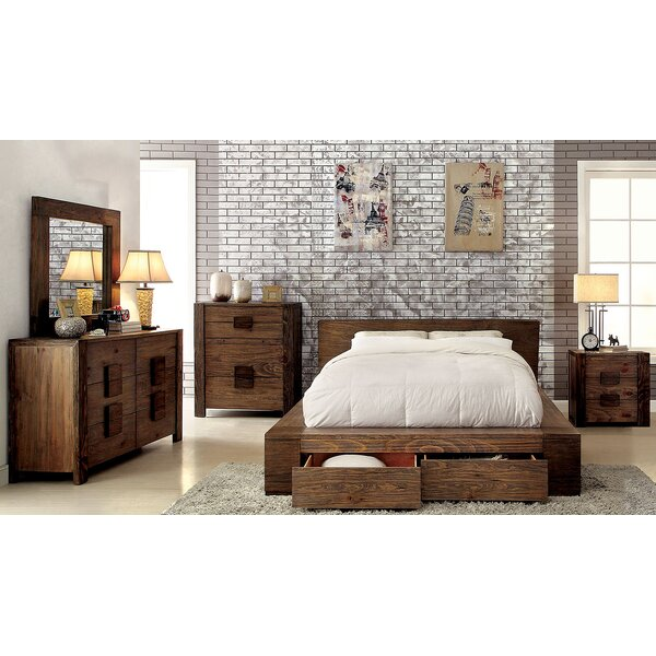 Joan Platform Configurable Bedroom Set by A&J Homes Studio