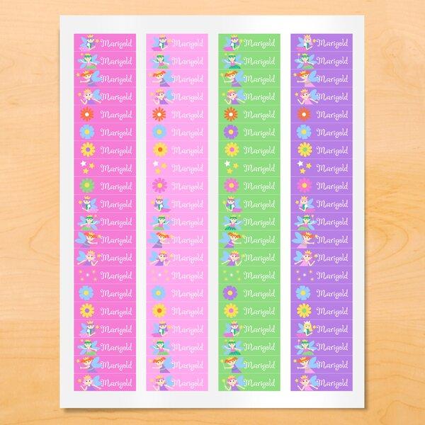 Karlin Fairy Princess Personalized Wall Sticker by Zoomie Kids