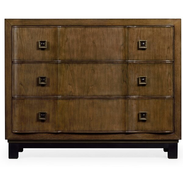 3 Drawer Accent Chest By Jonathan Charles Fine Furniture