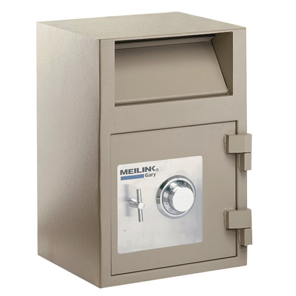 Front Loading Depository Safe with Key Lock by Fir