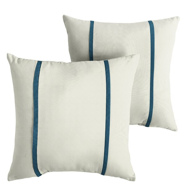 Hollifield Indoor/Outdoor Sunbrella Throw Pillow (Set of 2) by Alcott Hill