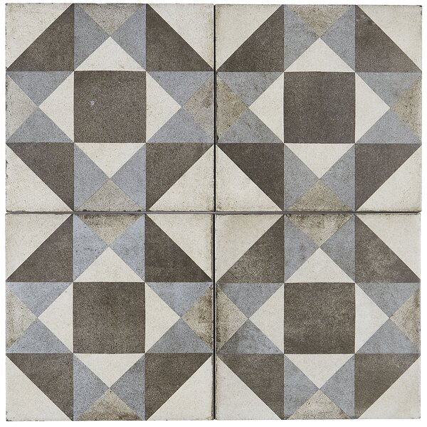 8 x 8 Porcelain Field Tile in Figura by Itona Tile