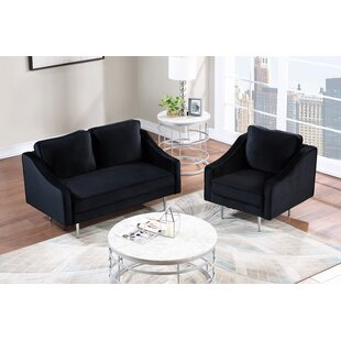 Weyburn 2 Piece Living Room Set by Everly Quinn