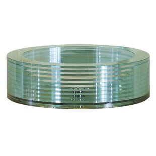 Best Choices Tempered Segmented Glass Circular Vessel Bathroom Sink By Avanity