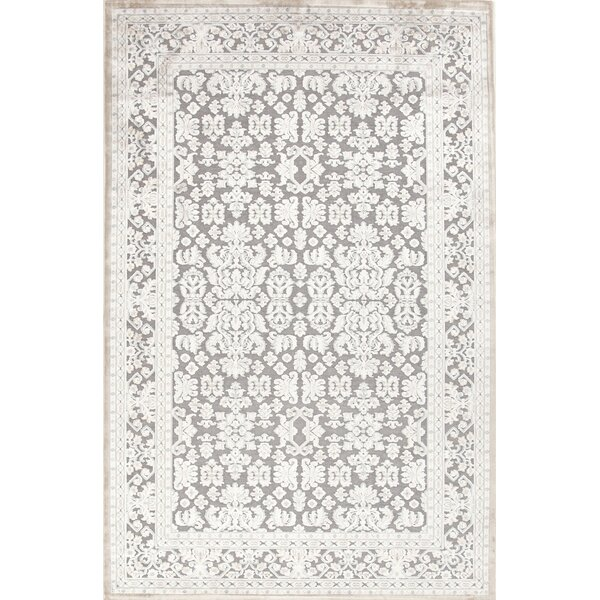Orona Gray/Ivory Area Rug by One Allium Way