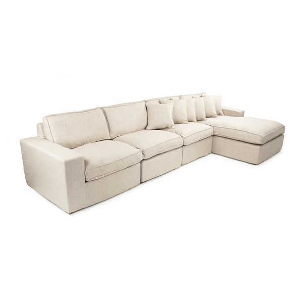 Chaud Sectional by Zentique