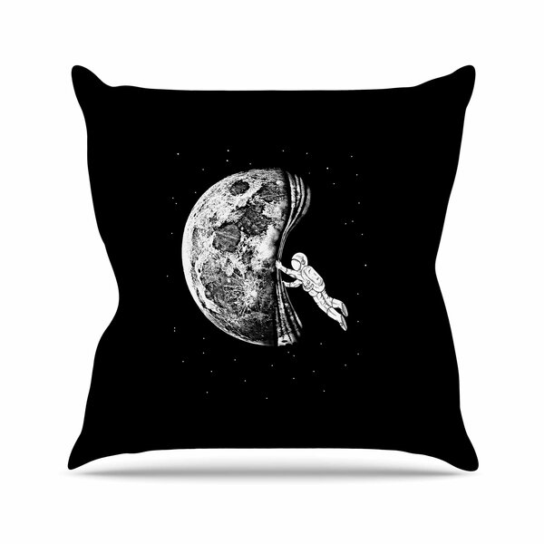 BarmalisiRTB the Night Has Come Outdoor Throw Pillow by East Urban Home