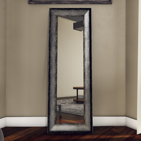 Sterling Charocal Body Accent Mirror by Trent Austin Design
