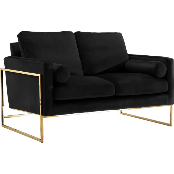 Cool Trendy Maldanado Loveseat by Mercury Row by Mercury Row
