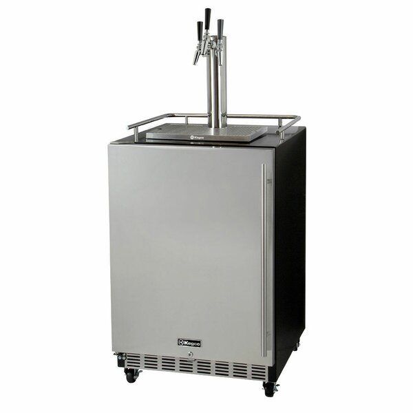 Triple Tap Commercial Grade Full Size Beer Dispenser by Kegco