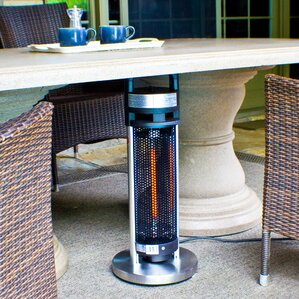 4 seasons infrared 900 watt electric tabletop patio heater