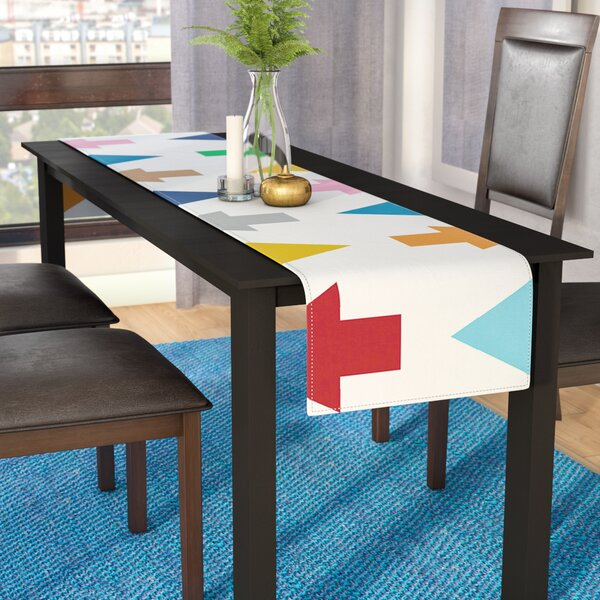 Project M Arrows Up and Down Table Runner by East Urban Home