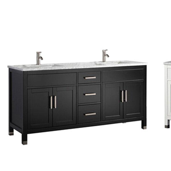 Peralez Modern 60 Double Bathroom Vanity Set by Brayden Studio