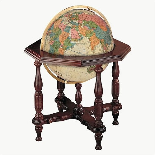 Statesman Antique World Globe by Replogle Globes