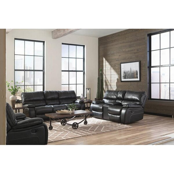 Emerico Motion 3 Piece Reclining Living Room Set by Latitude Run