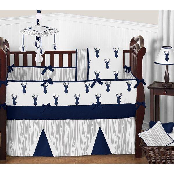 Woodland Deer 9 Piece Crib Bedding Set by Sweet Jojo Designs