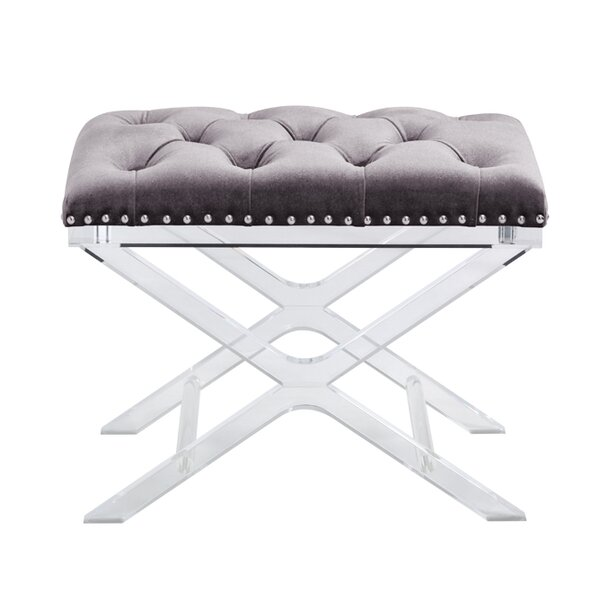 Dittmer Upholstered Bench by Everly Quinn