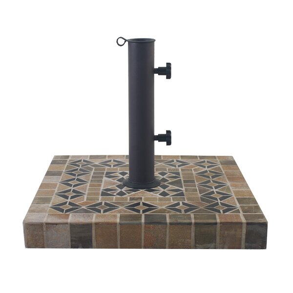 Aronwold Concrete Free Standing Umbrella Base by World Menagerie