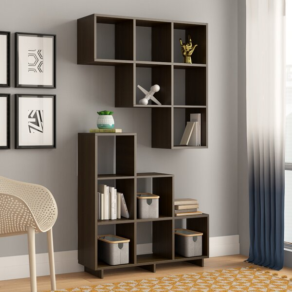 Cleo Step Bookcase (Set Of 2) By Latitude Run