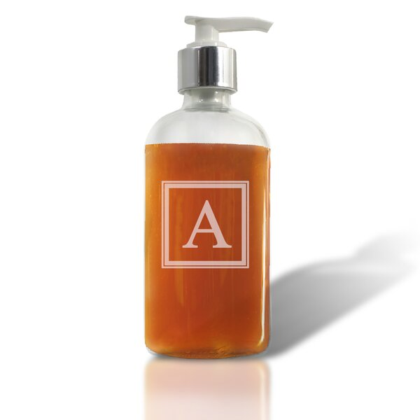 Flannigan Glass Soap Dispenser by Alcott Hill