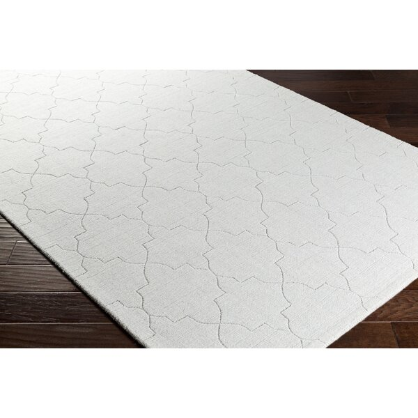 Swindell Hand-Loomed Gray Area Rug by Charlton Home