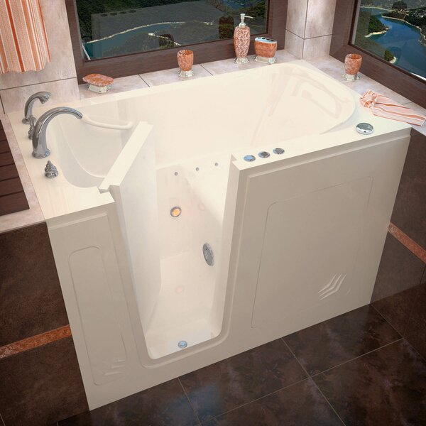 Buena Vista 54 x 30 Walk-In Air Jetted Bathtub by Therapeutic Tubs