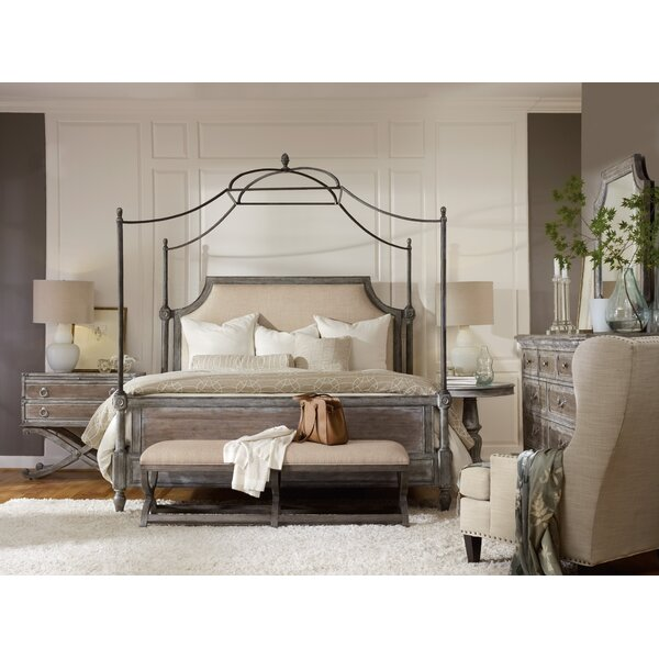 True Vintage King Canopy Configurable Bedroom Set by Hooker Furniture