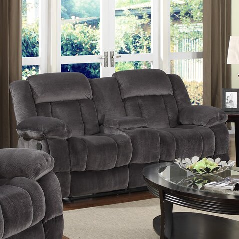 Madison Reclining Loveseat by Sunset Trading