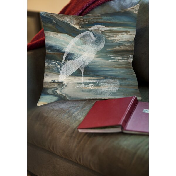 Cruising Printed Throw Pillow by Manual Woodworkers & Weavers