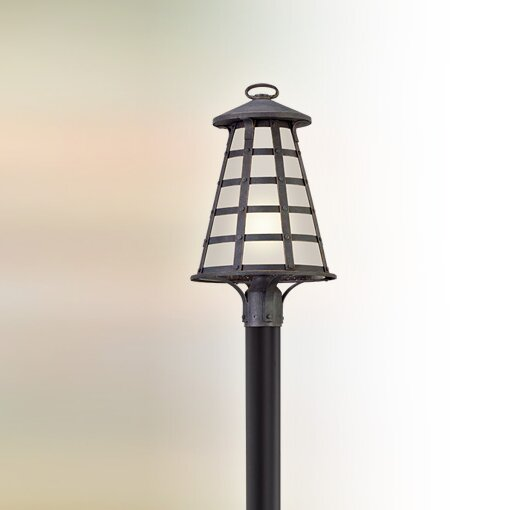 Neelesh Outdoor 1-Light LED Lantern Head by 17 Stories