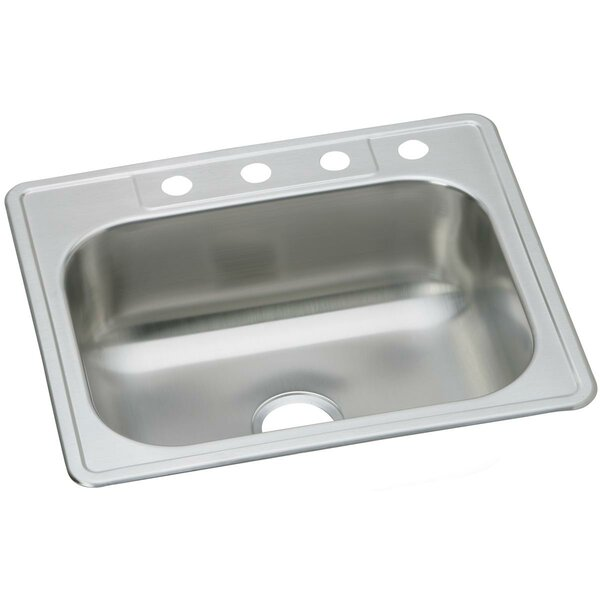 Dayton 25 L x 22 W Drop-In Kitchen Sink by Elkay