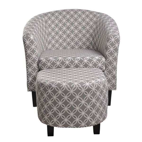 @ Paisley Barrel Chair and Ottoman by Nathaniel Home  #$299.00!