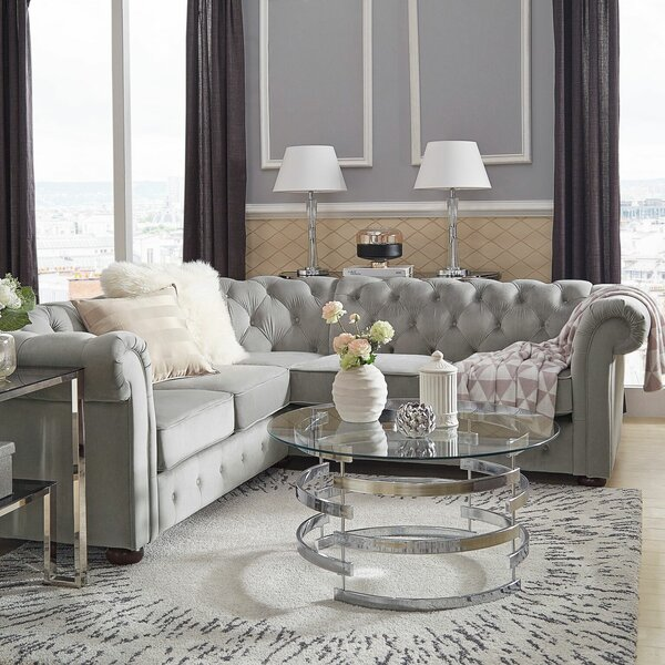 Esai Reversible Sectional By Willa Arlo Interiors