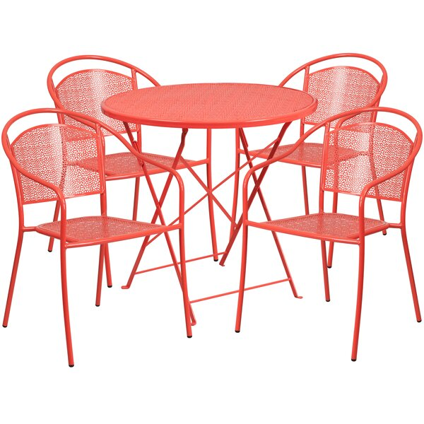 Horacio 5 Piece Dining Set by Zipcode Design