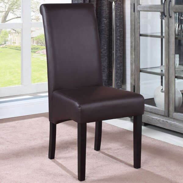 Leather Upholstered Dining Chair (Set of 2) by BestMasterFurniture