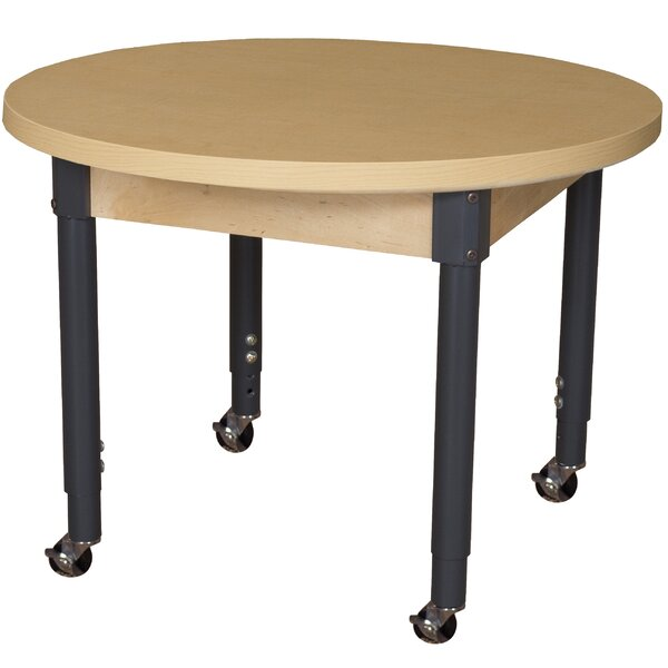 Circular Activity Table by Wood Designs
