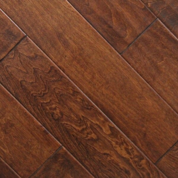 5 x 48 x 2.7mm Birch Laminate Flooring in Burnt Sienna (Set of 22) by Serradon